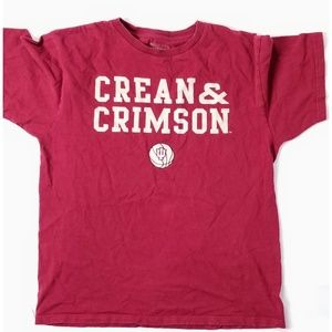 Indiana University Basketball Crean & Crimson Tee